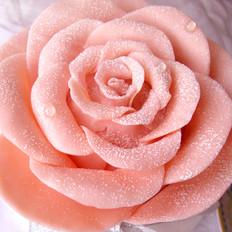 巧克力玫瑰花蛋糕