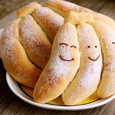 软萌香蕉面包
