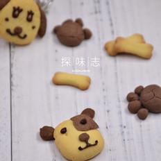 小狗卡通饼干