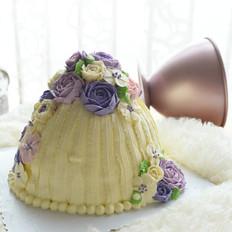 满满少女心的花簇蛋糕的做法