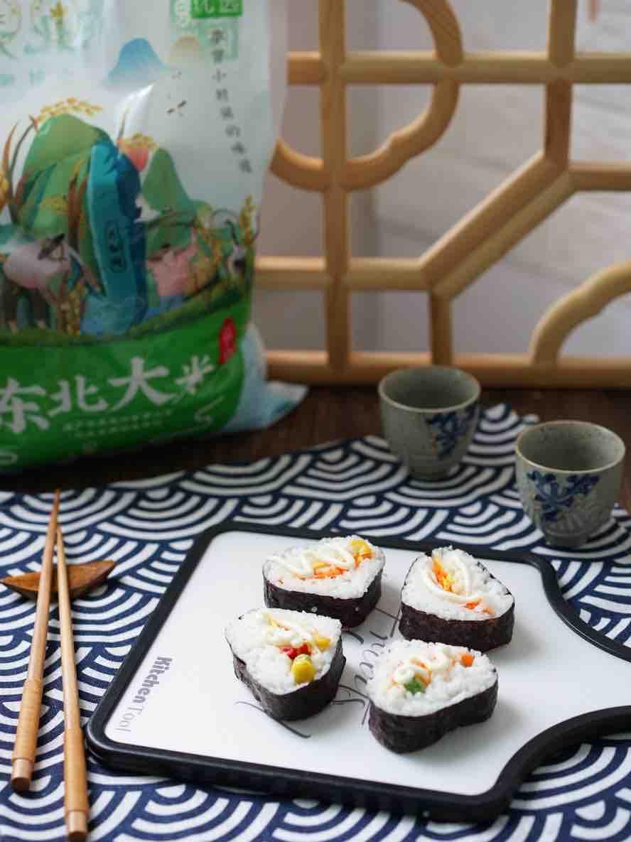 胡萝卜寿司卷