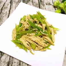 芹菜炝腐竹