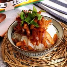 榨菜肉丝米粉(干拌)