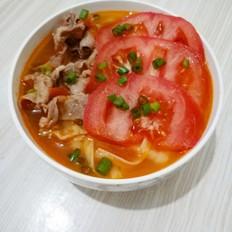 番茄肥牛面