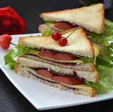 芝士三明治