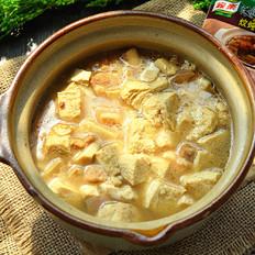 砂锅炖冻豆腐