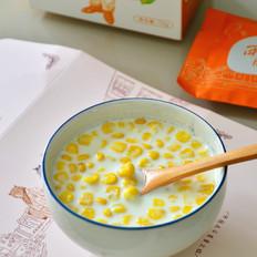 牛奶玉米粒
