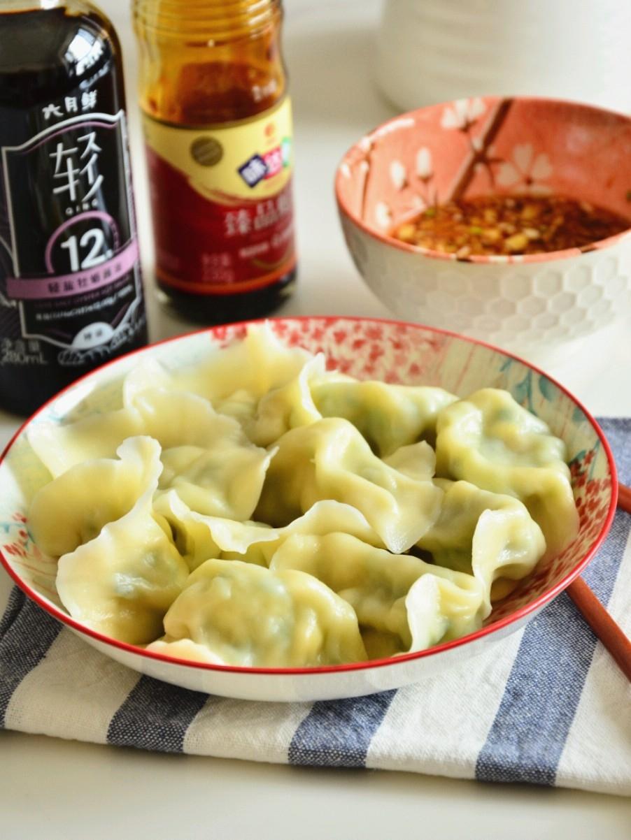 #冬至大如年#鲜美无比的黄瓜虾仁水饺