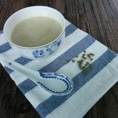 小米绿豆糊