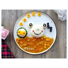 咖喱青蛙饭团
