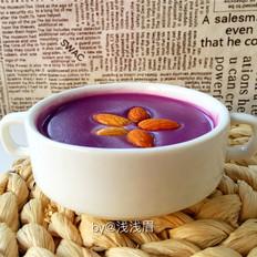 暖胃紫薯糊