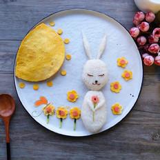 春暖花开把爱融进饭团