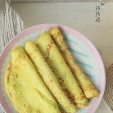 金黄西葫芦蛋饼