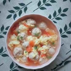 孩子超爱的猪肉丸子汤