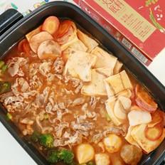 冬天最爱的暖胃羊肉番茄火锅