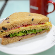 蒜香三明治