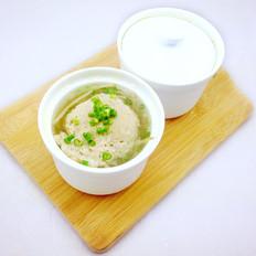 豆芽肉饼汤