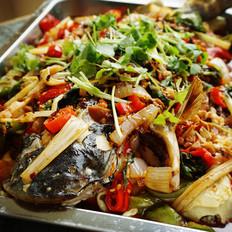 风味烤鱼的做法