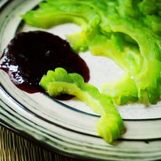 冰镇蓝莓酱苦瓜