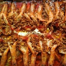 蒜香烤基围虾