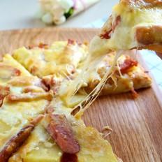菠萝火腿披萨
