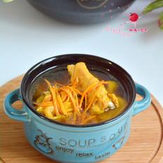 鸡肉虫草汤