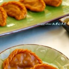 花式蒸饺之胡萝卜汁蒸饺