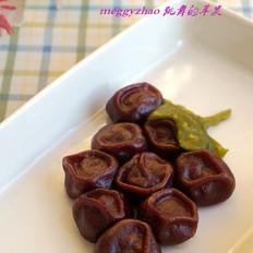 花式蒸饺之紫葡萄蒸饺