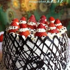 圣诞老人奶油蛋糕