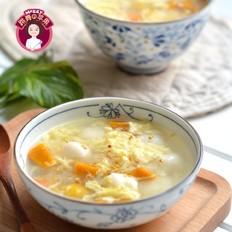 南瓜栗子鸡蛋汤