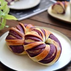 紫薯面包圈