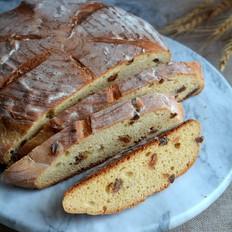 中种蜂蜜葡萄干面包