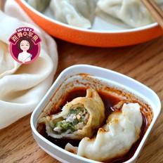 猪肉豇豆白玉菇饺子