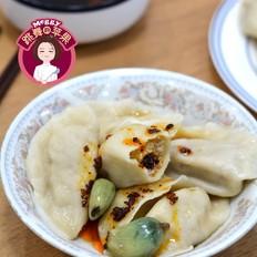 猪肉白菜杏鲍菇饺子