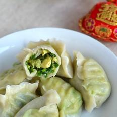 鸡蛋韭菜水饺