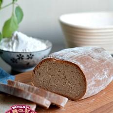 黑麦高纤面包