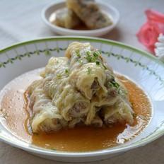 白菜香菇肉卷