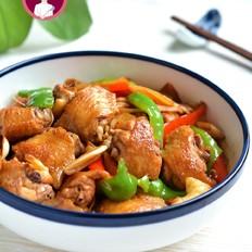 鲜姜炒鸡翅