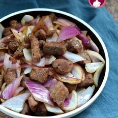 洋葱黑椒牛肉粒