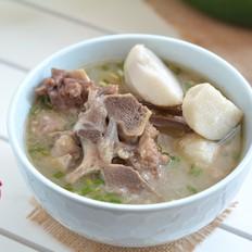 牛脊骨芋头汤