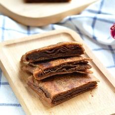 麻酱红糖酥饼