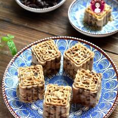 红糖蜜豆山药糕