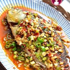 干燒鯽魚的做法