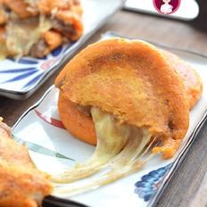 拉丝奶酪红薯糯米饼