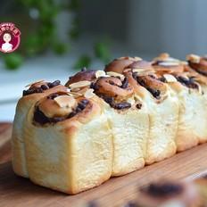冷藏发酵法蜜豆面包