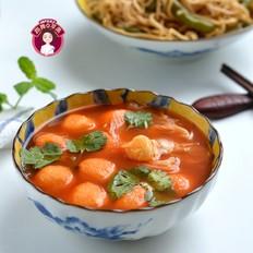 仙草鱼丸酸汤