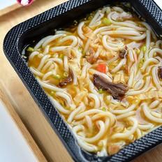 牛肝菌鸡汤米线