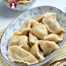 白萝卜牛肉杂粮饺子