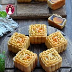 白莲蓉&红豆沙蛋黄月饼