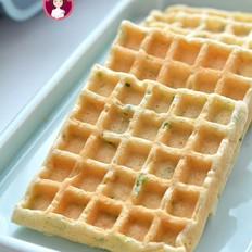 香葱芝麻肉松华夫饼